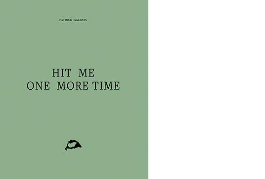 Peperoni Books: Hit Me One More Time